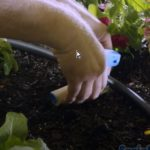 cutting drip tubing