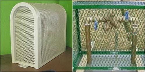 metal backflow cage