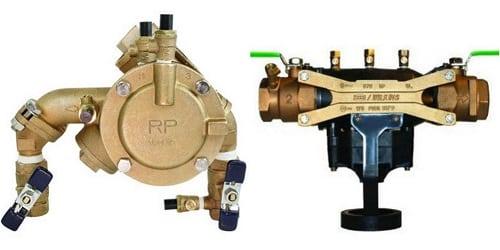 reduced pressure principle backflow